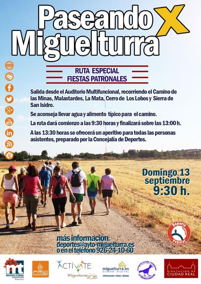 Imagen: Gran actividad deportiva en Miguelturra, este fin de semana, con motivo de las fiestas patronales