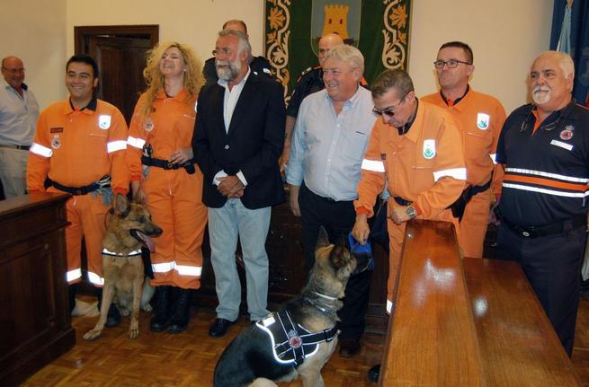 Imagen: Reconocimiento por el trabajo en Protección Civil