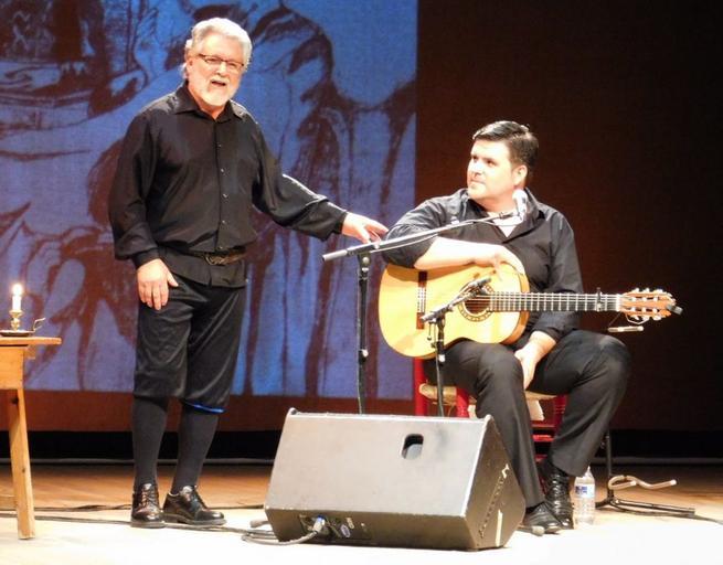 Imagen: Lleno en el Ayala para el espectáculo 'Quijote y Olé'