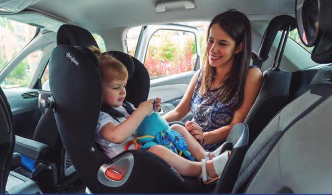 Imagen: Ciudad Real se suma a la Campaña de la DGT  sobre el uso del cinturón de seguridad