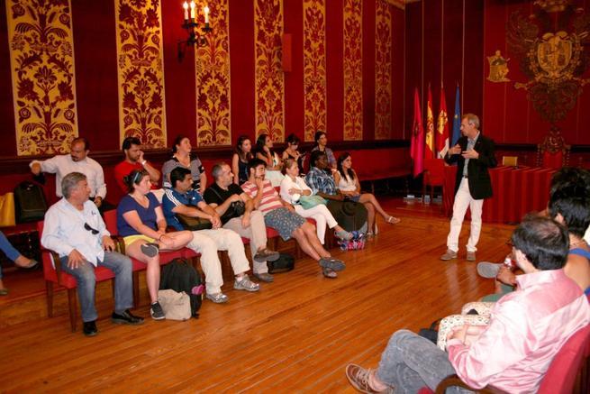 Imagen: Alumnos del Posgrado Iberoamericano visitan Ayuntamiento de Toledo