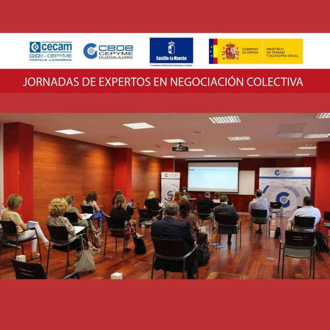 Celebra la primera de las jornadas de expertos en negociación colectiva organizadas por CEOE-CEPYME Guadalajara
