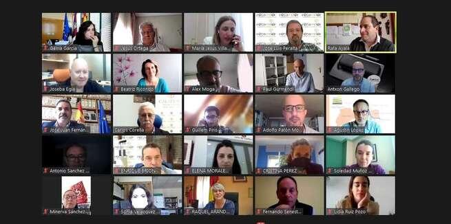 Éxito rotundo en la jornada virtual de debate de la AD Campo de Calatrava con más de un centenar de participantes de todo el país