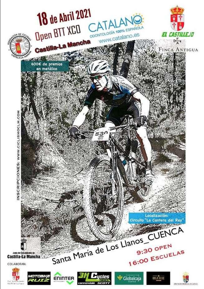 Todo preparado para el I Trofeo XCO El Castillejo-Santa María de los Llanos, tercera puntuable del Open regional