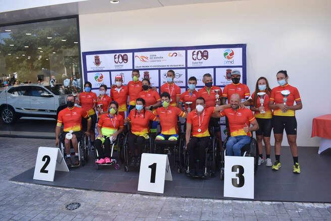 Ciudad Real logra un gran éxito técnico, deportivo y de organización en el Campeonato de España de ciclismo adaptado