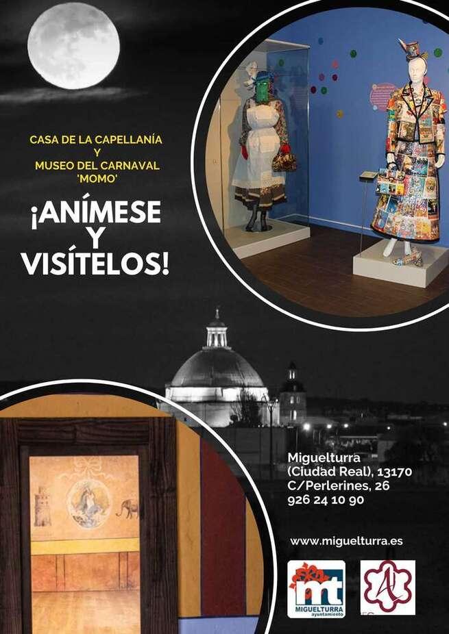 Explora Miguelturra: Una iniciativa para conocer mejor el museo del carnaval y la cas de la Capellanía