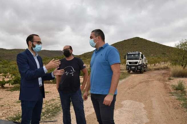 La Diputación de Albacete mejora, con medios propios, 15 kilómetros de caminos rurales en Ontur