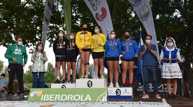 La diputación de Toledo ha colaborado en la celebración del campeonato de España de media maratón de piragüismo