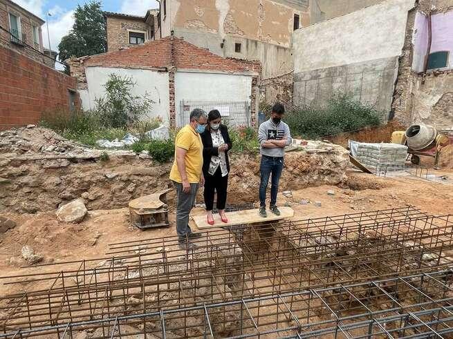 El Gobierno regional destaca el importante hallazgo de dos bóvedas de lo que fuera el anfiteatro romano de Toledo
