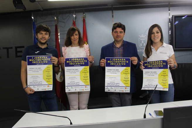 """El Ayuntamiento de Albacete apoya las """"I Jornadas Multideporte Inclusivo"""" para promover la práctica de deportes adaptados a todas las capacidades"""