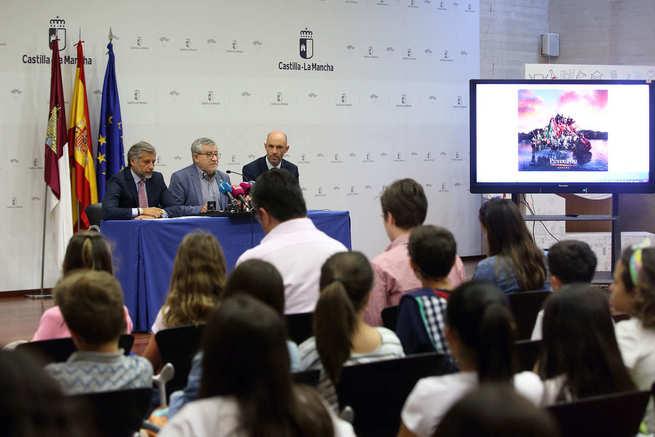 El Gobierno regional y Puy Du Fou lanzan un concurso escolar de relatos y creación plástica para promocionar el futuro parque de espectáculos