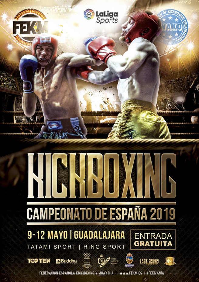 Mañana sábado por la noche en Guadalajara habrá una vistosa  Velada - Gala de Kick Boxing con entrada libre