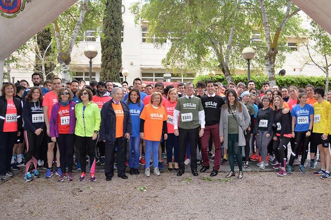 La carrera solidaria Campus de Ciudad Real a Través de la UCLM moviliza a casi 2.000 personas