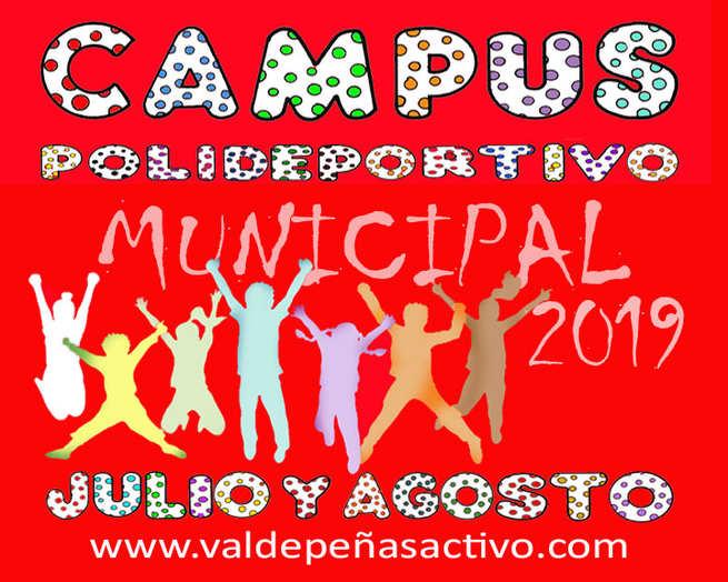 Abiertos los plazos de inscripción para los  Campus Polideportivos y Joventurasport en Valdepeñas