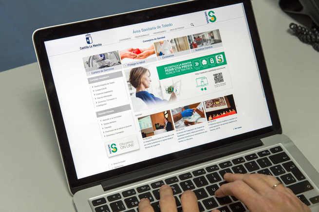 El Área de Salud de Toledo renueva su portal web con aplicaciones y contenidos de gran utilidad para ciudadanos y profesionales