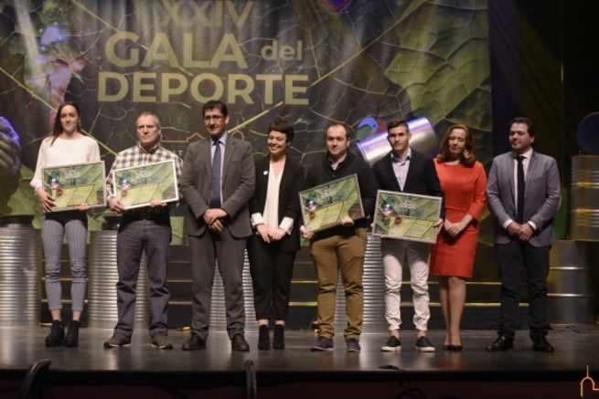 La Diputación de Ciudad Real distingue a los embajadores de nuestra provincia a través del deporte