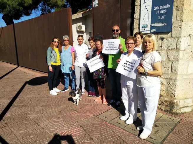 CSIF prosigue las movilizaciones en escuelas infantiles de Ciudad Real
