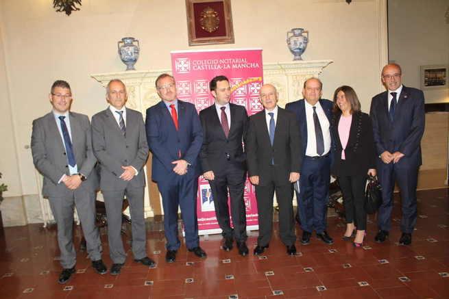 Juan Francisco Jerez participa en la Jornada sobre el Urbanismo y la Seguridad Jurídica organizadas por el Colegio Notarial de CLM
