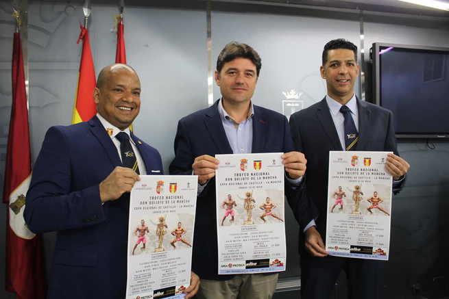 """Albacete acoge el Trofeo Nacional """"Campeonato Don Quijote"""" y la Copa Regional  Castilla-La Mancha de Fisioculturismo el próximo sábado"""