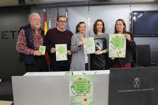 Presentada en Albacete la II Feria de Agricultura Ecológica Biodinámica 2019