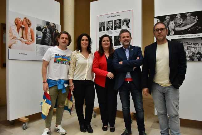 El Ayuntamiento de Toledo respalda la exposición 'Un orgullo necesario' con la que Humanidades conmemora el Día Mundial contra la Homofobia