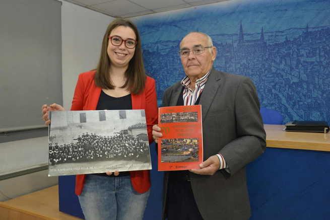 'Azumel' recupera en una exposición en el Centro Cultural San Marcos de Toledo 750 fotografías sobre la historia de la Fábrica de Armas