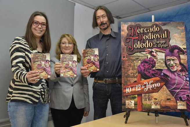 El Mercado Medieval de Toledo reunirá a más de 80 artesanos, teatro y música