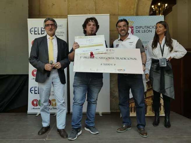 El restaurante Molino de Alcuneza de Sigüenza gana el primer premio de Cocina Tradicional en la Semana Internacional de la Trucha de León