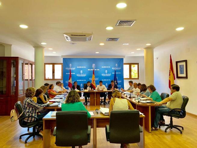 """El Ayuntamiento de Bolaños aprueba por unanimidad declarar a la asociación """"coto de caza la sociedad"""" del municipio de interés público local"""