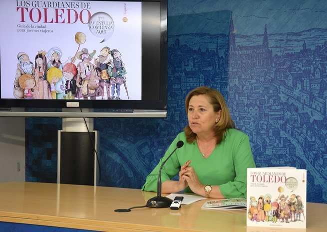El Ayuntamiento edita una guía para acercar el patrimonio artístico, histórico, gastronómico y natural de Toledo a los más jóvenes