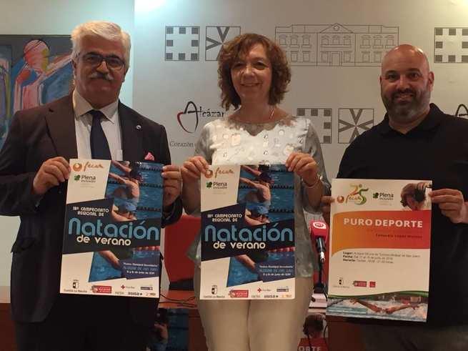 La Piscina Municipal de Alcázar de San Juan albergará el 18º Campeonato Regional de Natación de Verano