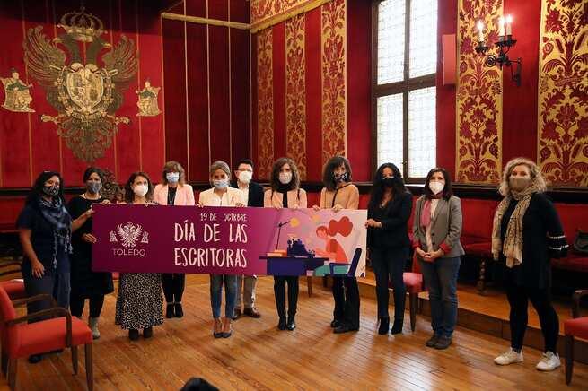 Milagros Tolón reivindica el trabajo y talento femenino con motivo del Día de las Escritoras que celebra Toledo