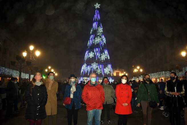 Pilar Zamora desea unas navidades tranquilas y  en familia a los vecinos y vecinas de Ciudad Real