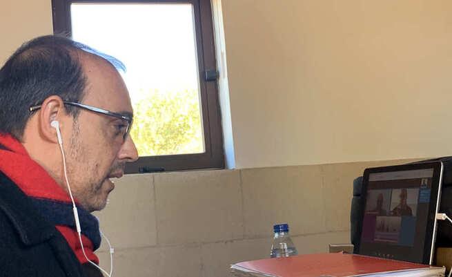 """Bellido apela a la colaboración entre instituciones y colectivos para """"afrontar el empobrecimiento de la sociedad"""" provocado por la pandemia"""