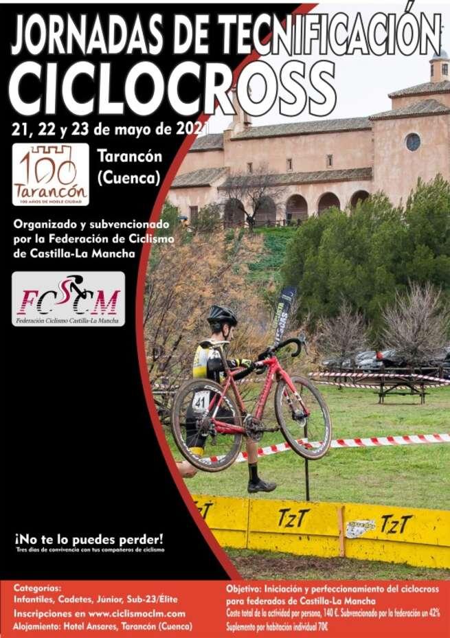 La Federación de Ciclismo organiza unas Jornadas de Tecnificación de Ciclocrós para federados regionales
