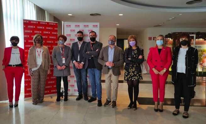 La Diputación de Albacete acompaña a la Federación de Construcción y Servicios de CC.OO. de Castilla-La Mancha en su 3° Congreso regional