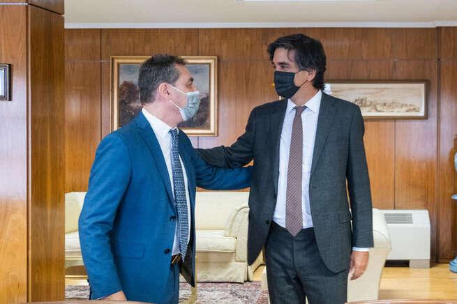 Tierraseca aborda con el secretario de Estado de Economía los proyectos que impulsarán la recuperación económica de Castilla-La Mancha