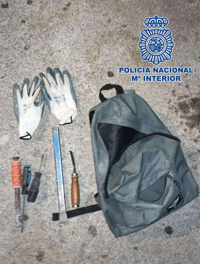 """La Policía Nacional detiene """"in fraganti"""" a dos varones que robaron dos veces en el mismo bar de Toledo"""