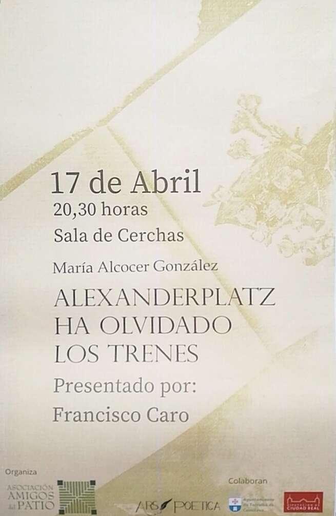 Torralba vibra y se emociona con la poesía de su paisana María Alcocer