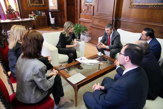 La alcaldesa traslada su apoyo a la Federación Española de Diabetes que celebrará su III Congreso Nacional en Toledo
