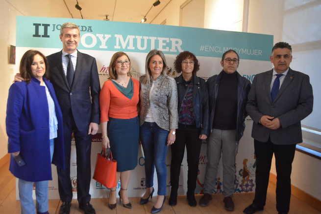 """Inauguración II Jornadas """"Soy mujer"""" organizadas por encastillalamancha.es en colaboración con la Universidad regional en Albacete"""