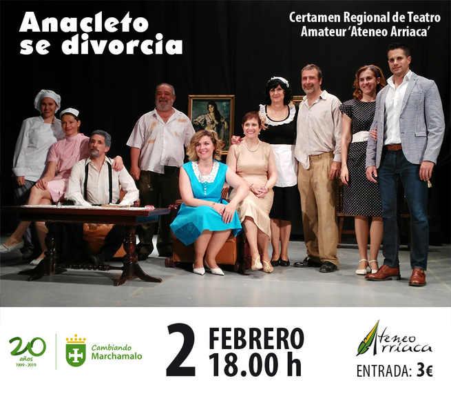 Tres compañías de teatro en la fase final del  Certamen Regional de Teatro 'Ateneo Arriaca'