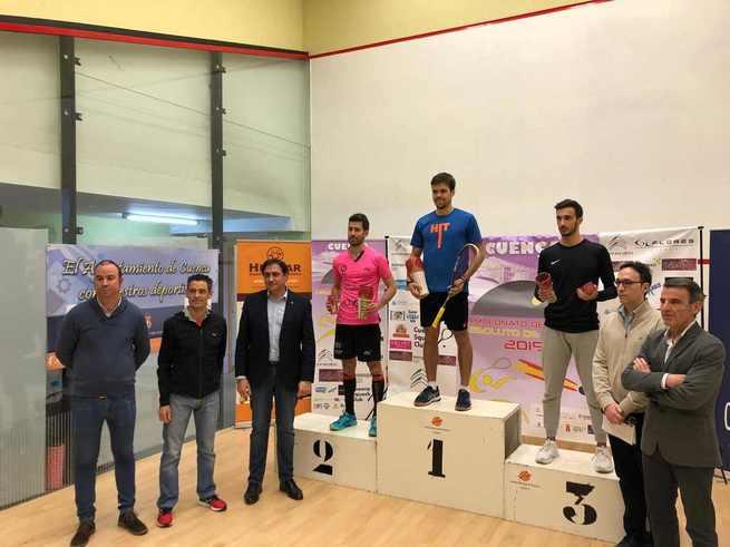Exitosa celebración del Campeonato de España Absoluto de Squash celebrado en Cuenca