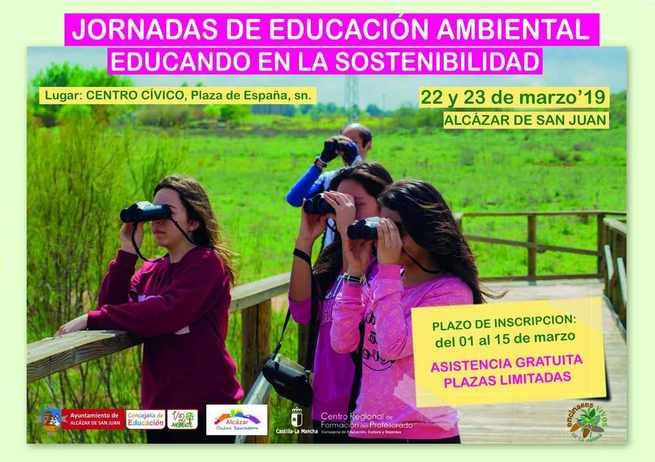 Jornadas de educación ambiental en ALcázar de San Juan: Educando en la sostenibilidad