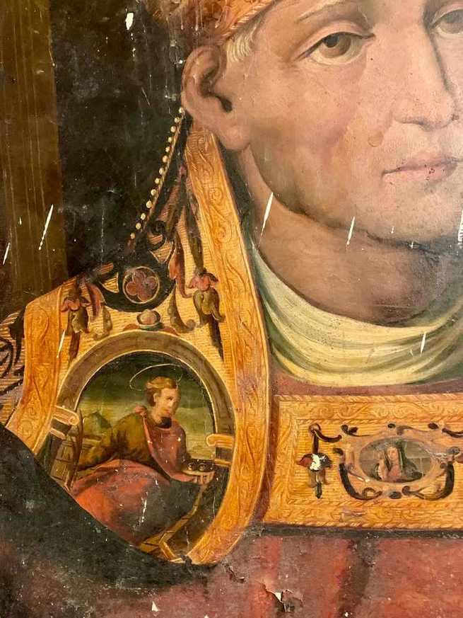 Hallada en la Catedral de Cuenca una excepcional pintura del renacimiento