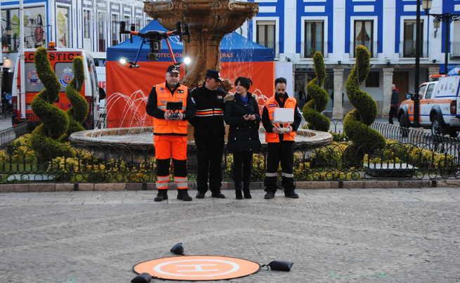 El Ayuntamiento de Valdepeñas dota a Protección Civil de un dron para emergencias