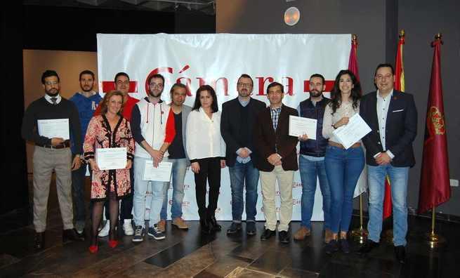 El Curso de Sumiller de la Cámara de Ciudad Real cierra su tercera edición con la graduación de una quincena de profesionales
