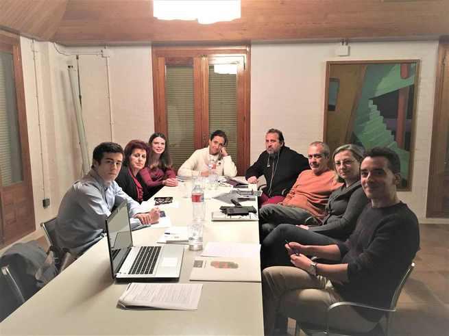 """El equipo de """"Cuenca, En Marcha!"""" se reúne con el Colegio Oficial de Arquitectos para valorar las medidas del borrador de programa"""