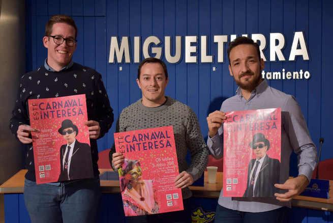 """""""Este carnaval me interesa"""" exposición de los últimos 20 de años de fotografía de Miguelturra en honor a la declaración de interés turístico nacional"""