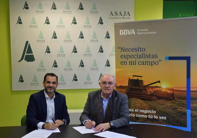 Ventajas financieras para agricultores y ganaderos a través del convenio de colaboración entre ASAJA CLM y BBVA